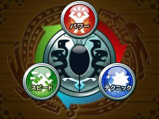 """攻撃タイプの""""3すくみ"""""""