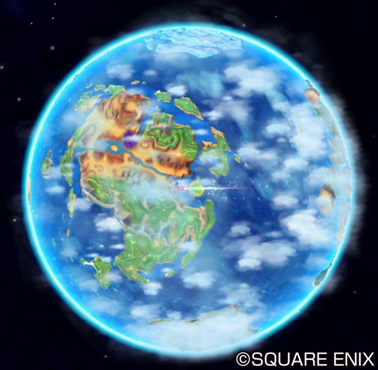 この惑星を舞台として壮大な冒険が描かれる