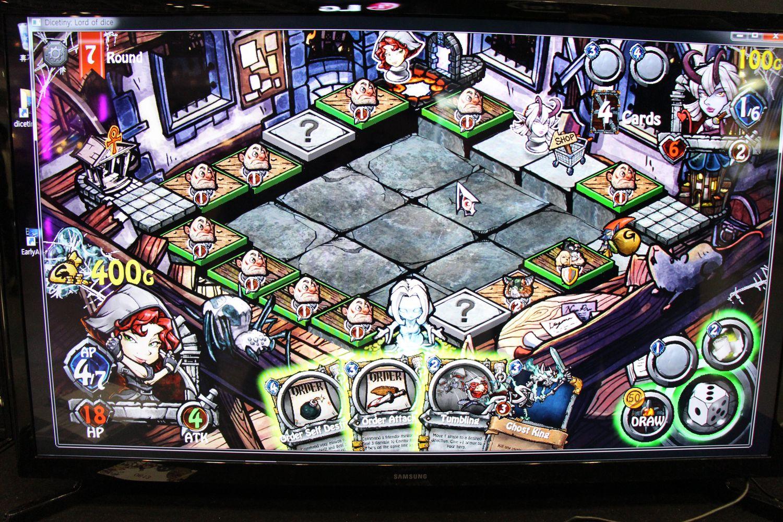「カルドセプト」にそっくりなゲーム画面