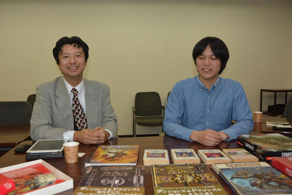 上田氏と伏見氏からは、「D&D」への強い思い入れが伝わってくる