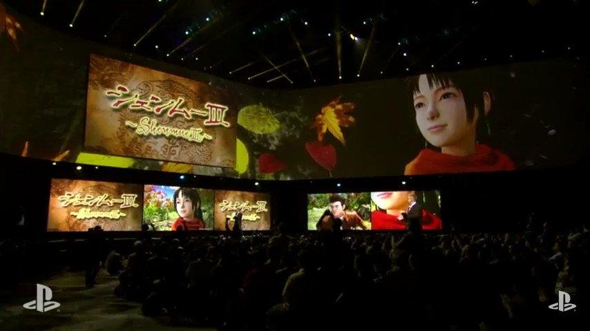 E3で発表された「シェンムーIII」
