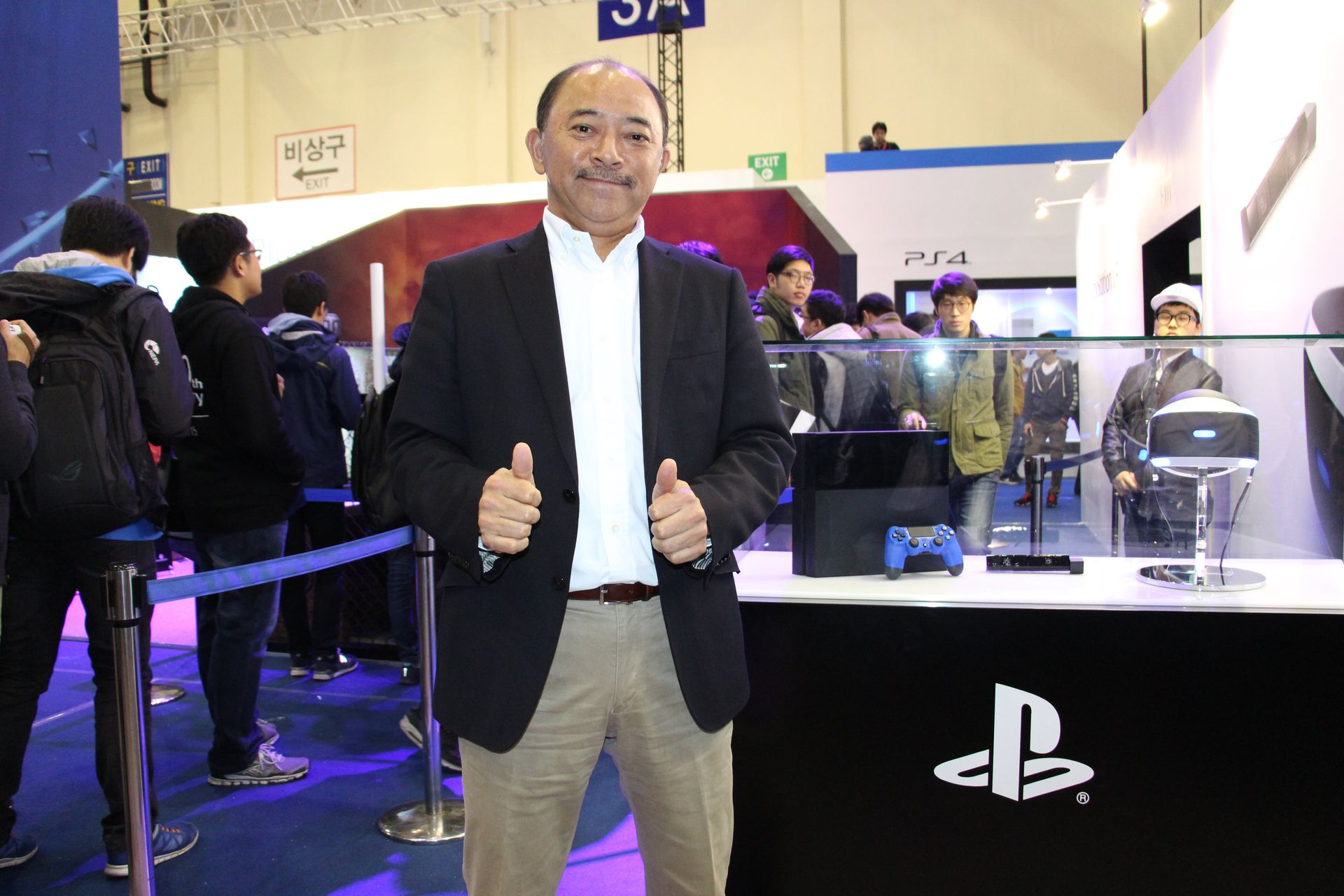 SCEJAでソフトウェアビジネス担当VPとして日本に帰任する川内氏。その手腕に引き続き期待したい