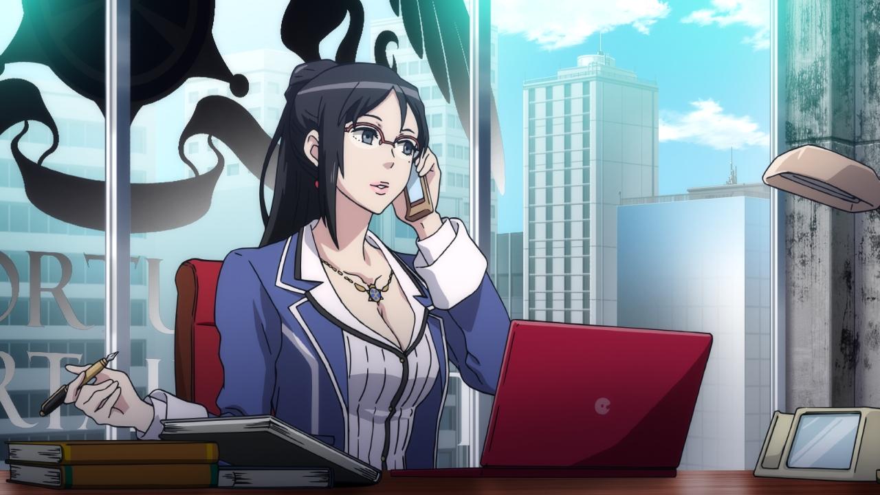 志摩崎舞子は、ミラージュマスターたちの母親的存在。酒好きで、グラビアアイドルとしての経歴を持つ。声優は小清水亜美さん