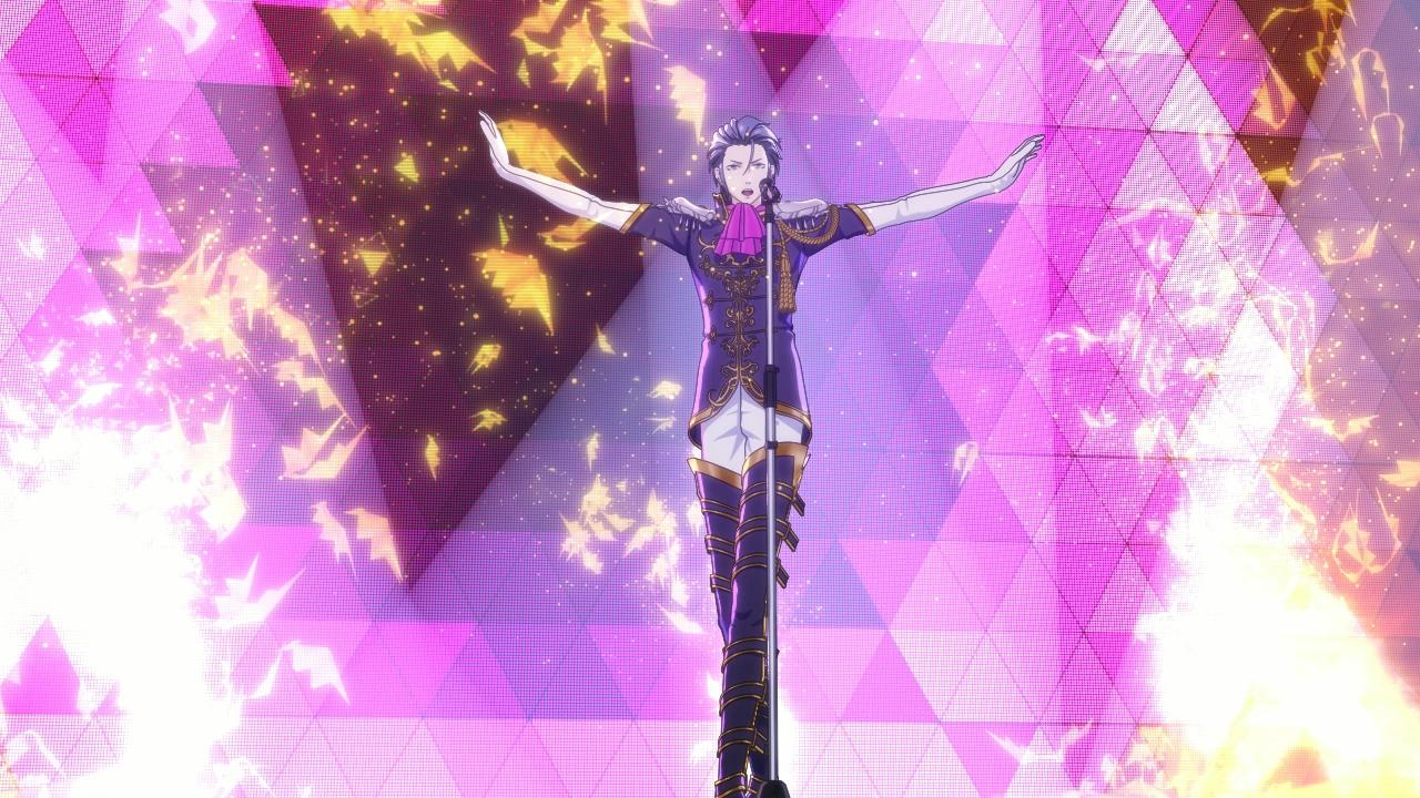とある理由から「フォルトナエンタテイメント」のミラージュマスターたちの前に立ちふさがる剣弥代。声優は細谷佳正さん