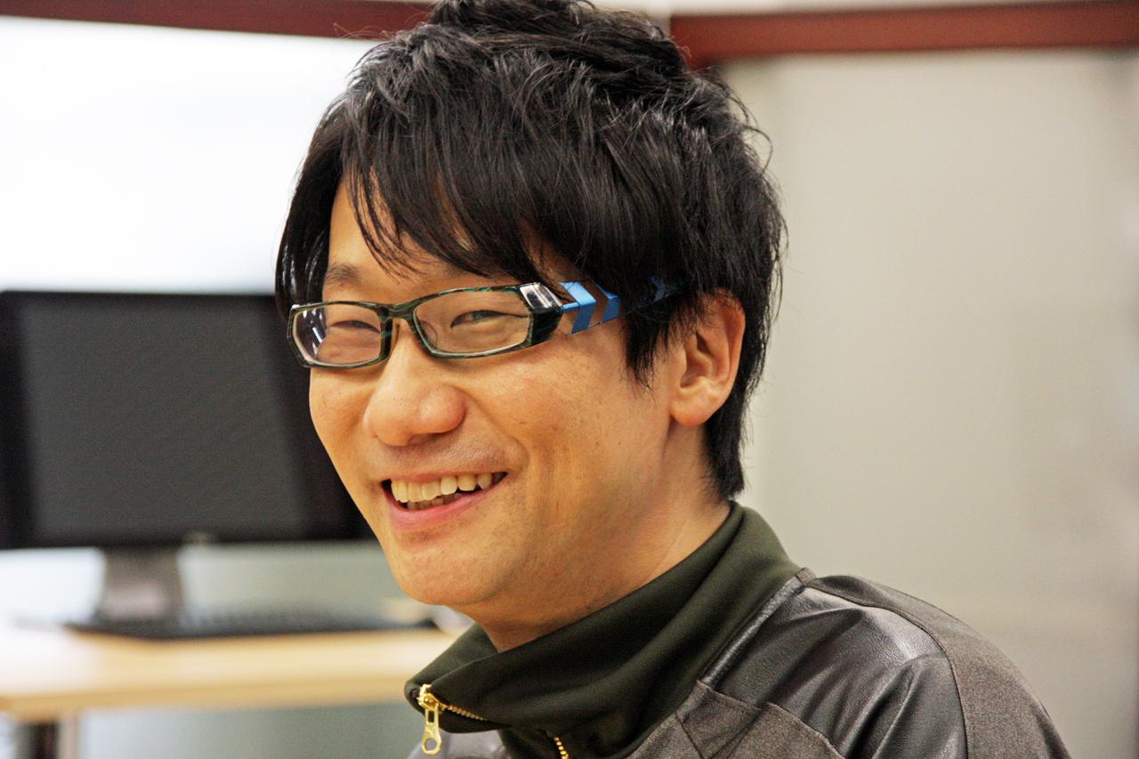 2014年インタビュー時の小島秀夫氏