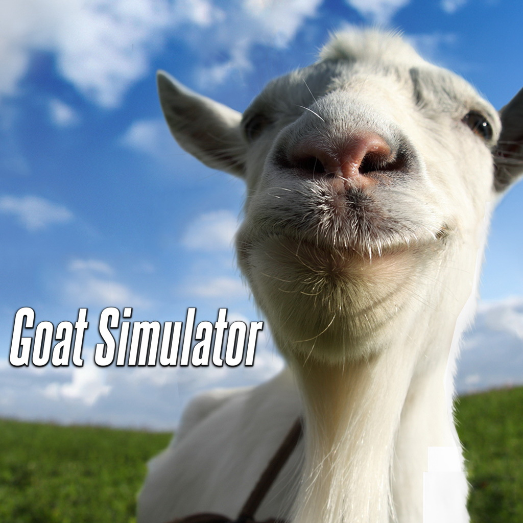 「Goat Simulator」