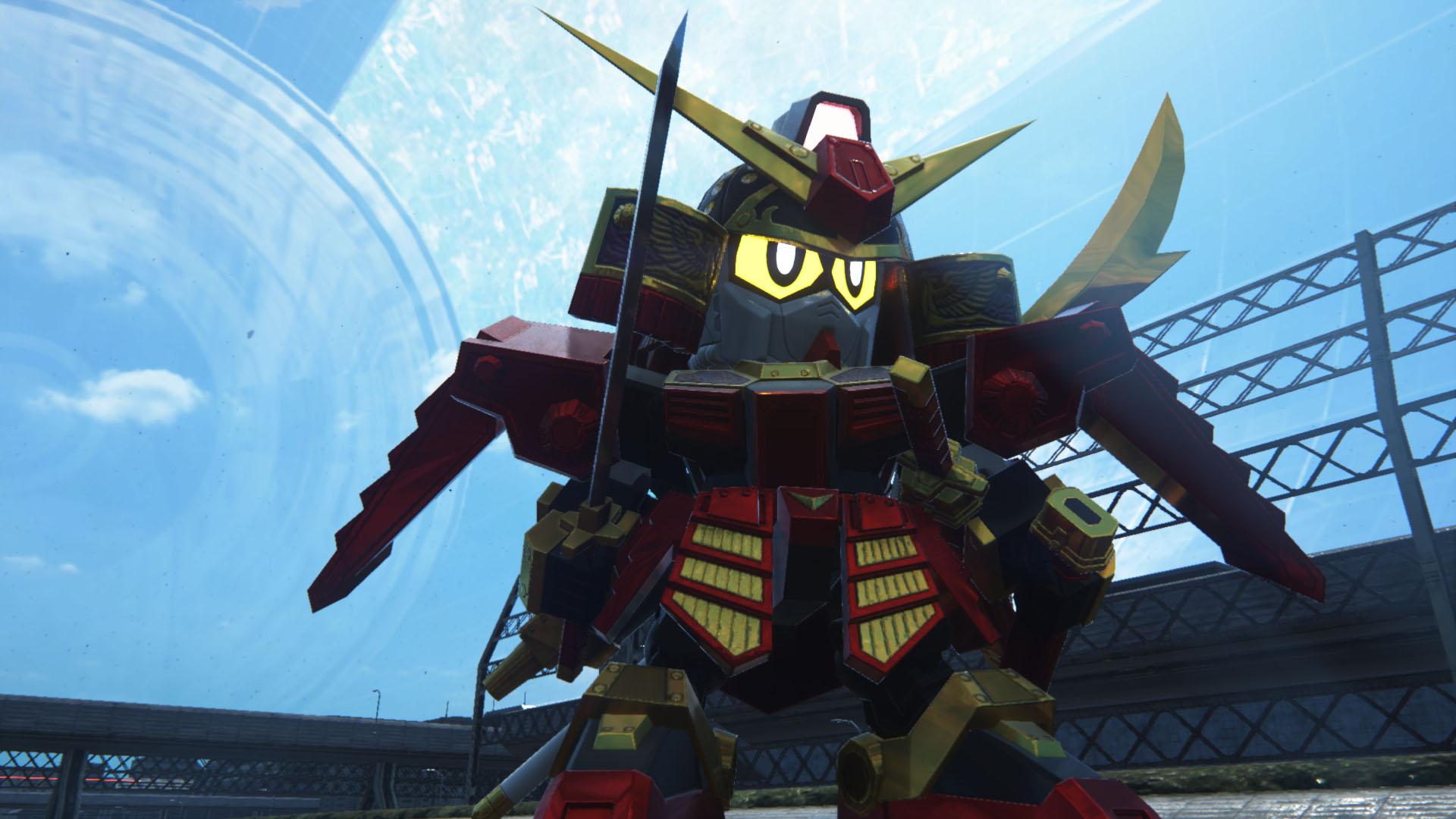 真紅の甲冑に身を包んだ正義の武者。携えた薙刀から放たれる「散雷日輪斬」は太陽のような輝きを放つ