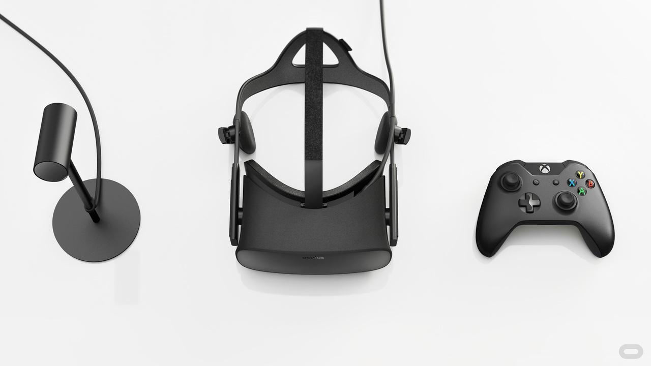 Oculus Rift。予約開始済み。製品出荷は3月末からの予定