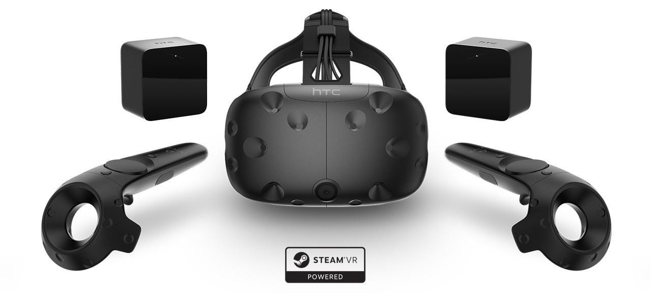 HTC Vive。2月29日に予約を開始。製品出荷は4月頭からの予定