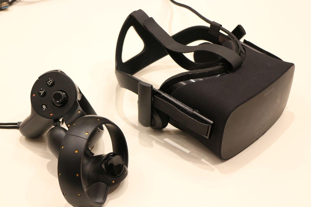Oculus Touchもハンドプレゼンスデバイスとして非常に秀逸なものだが、発売が遅れてしまった