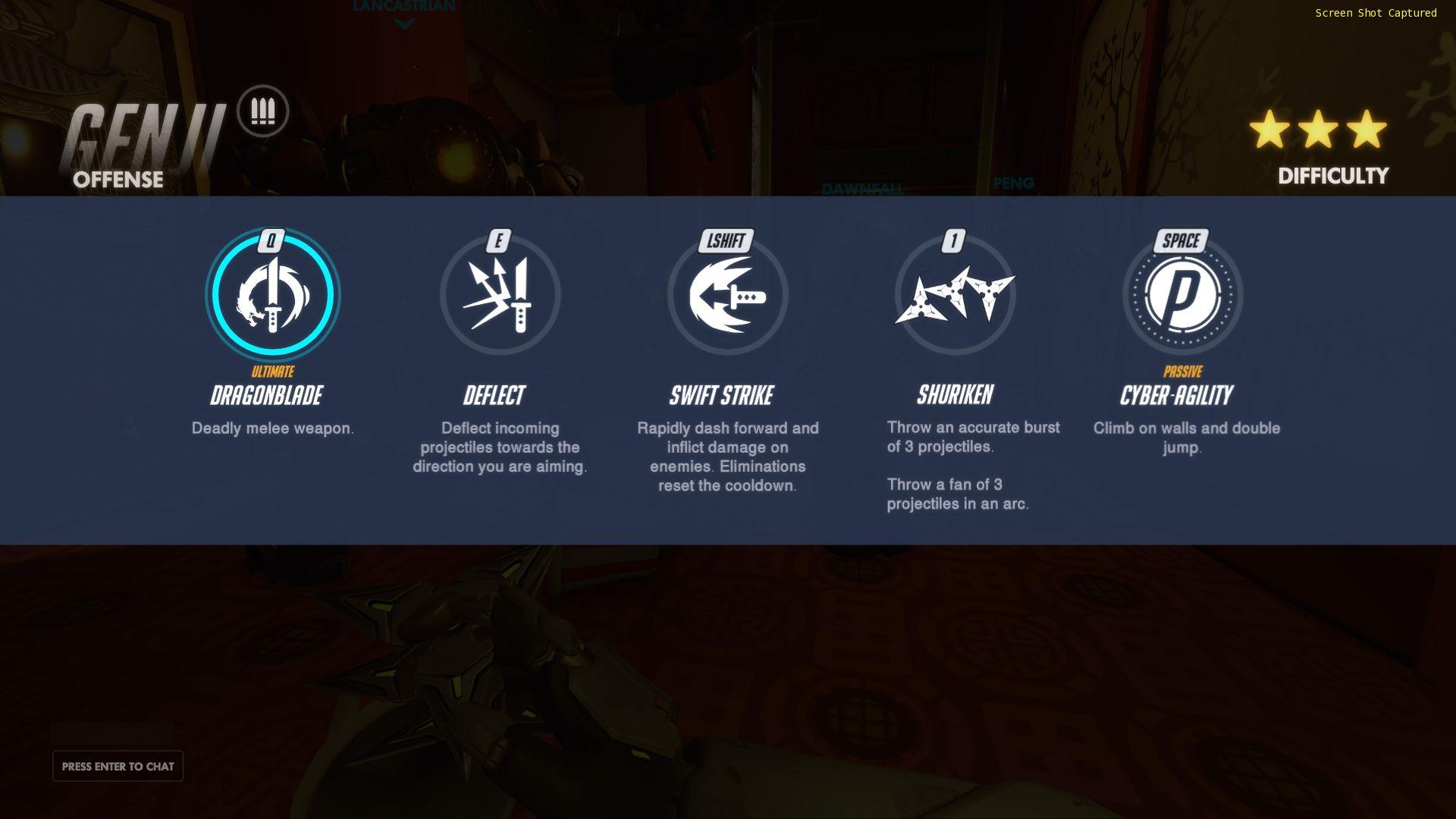 各ヒーローが持っているスキルは4~5つ