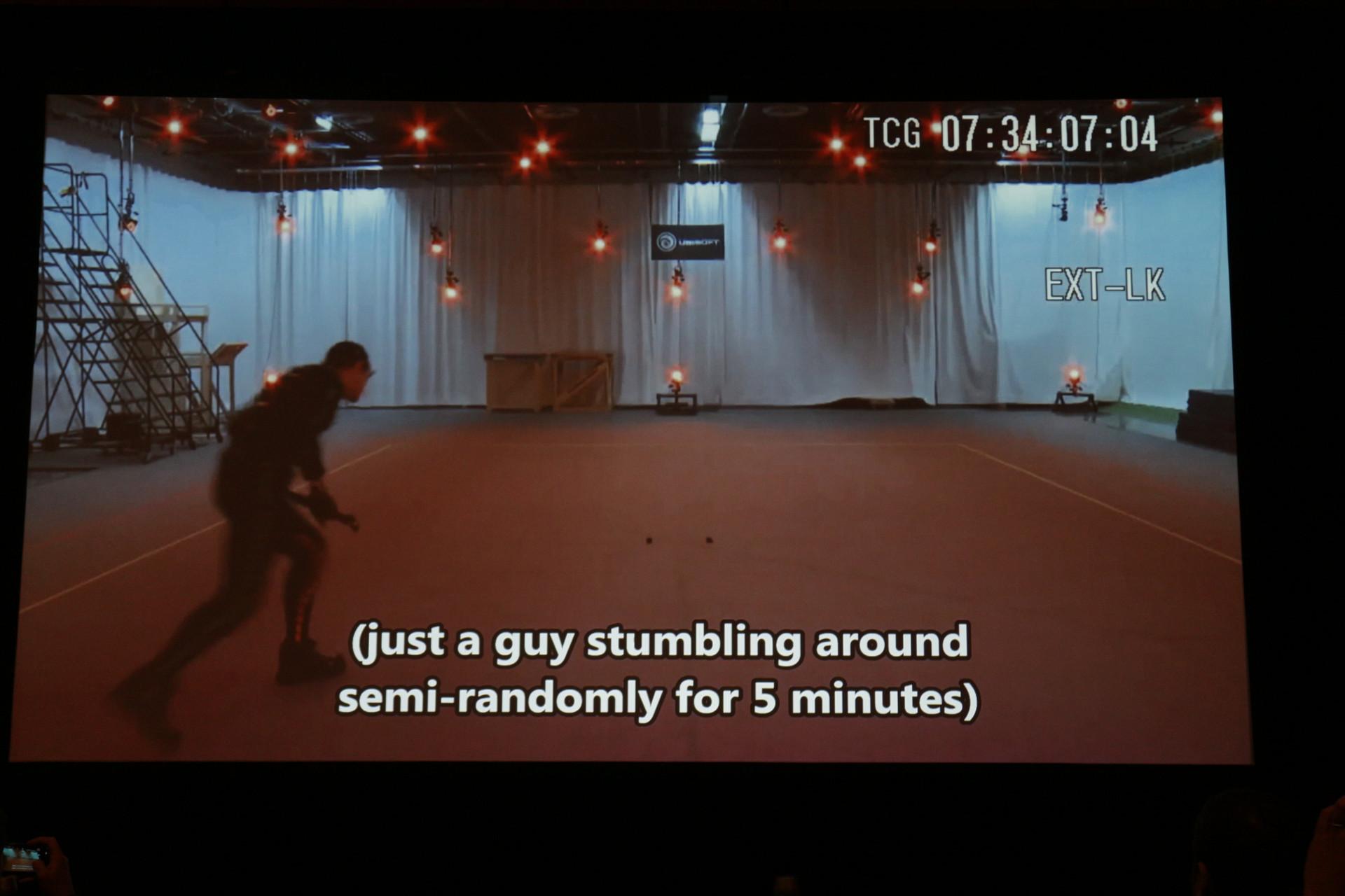 1種類の動きを撮るため、似たような動きを5分間も続ける