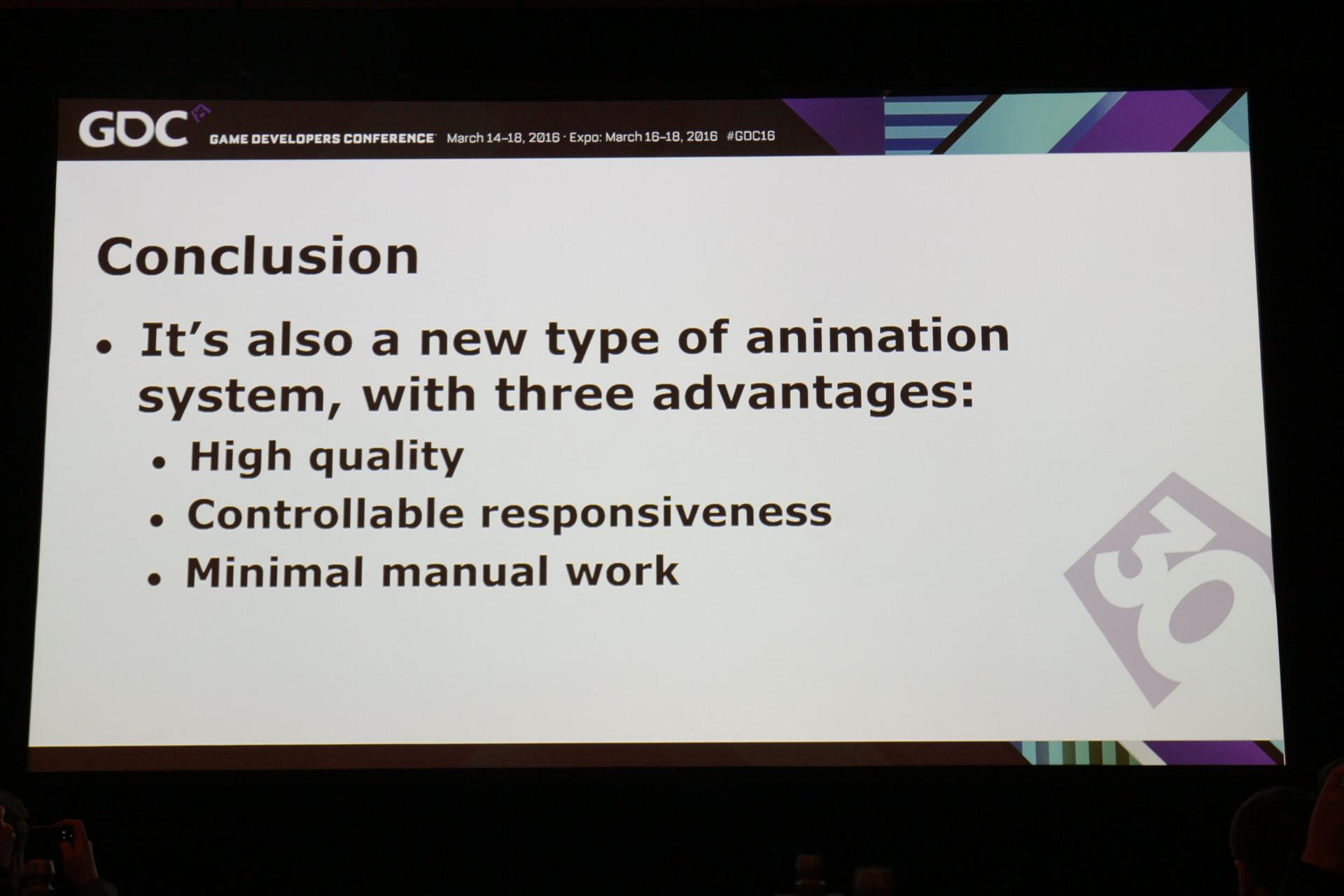 本手法のメリットは、機敏に操作可能なハイクオリティのアニメーションを実現でき、さらに、手作業も減ること。いいことづくめ?