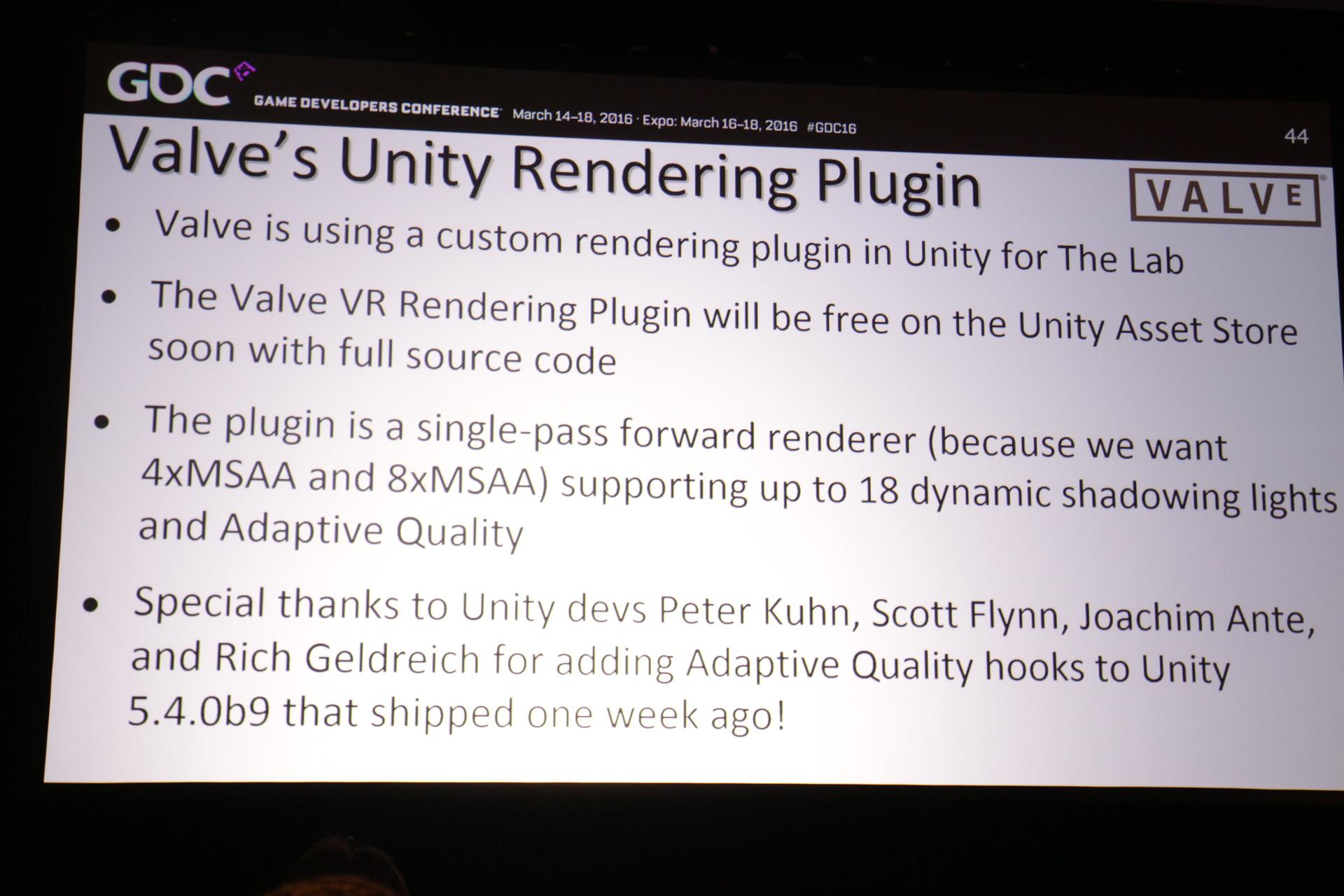 Unity用VRレンダリングプラグインの概要