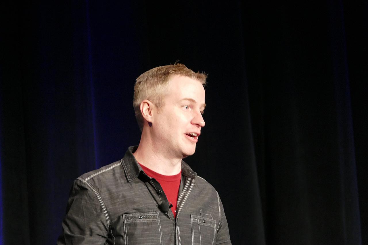 Epic GamesのTechnical Director、Mike Fricker氏