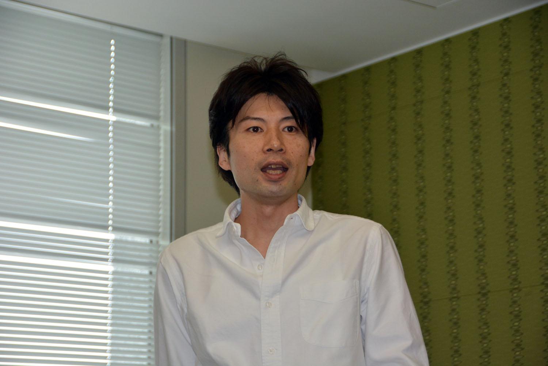 ゲームの解説を行なった日本マイクロソフトの南雲聡氏