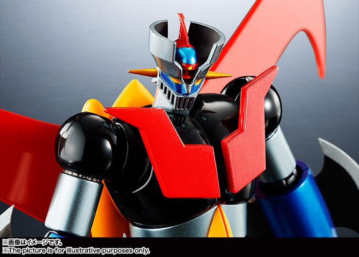 7月発売予定で、価格は6,500円(税別)。スーパーロボット超合金のフォーマットでは商品化されていなかった、アイアンカッターとジェットパイルダーを装備