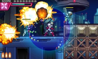 エネルギー満タン状態の時には、ミサイル系の攻撃を自動で防ぐバリアー「フラッシュフィールド」を展開する