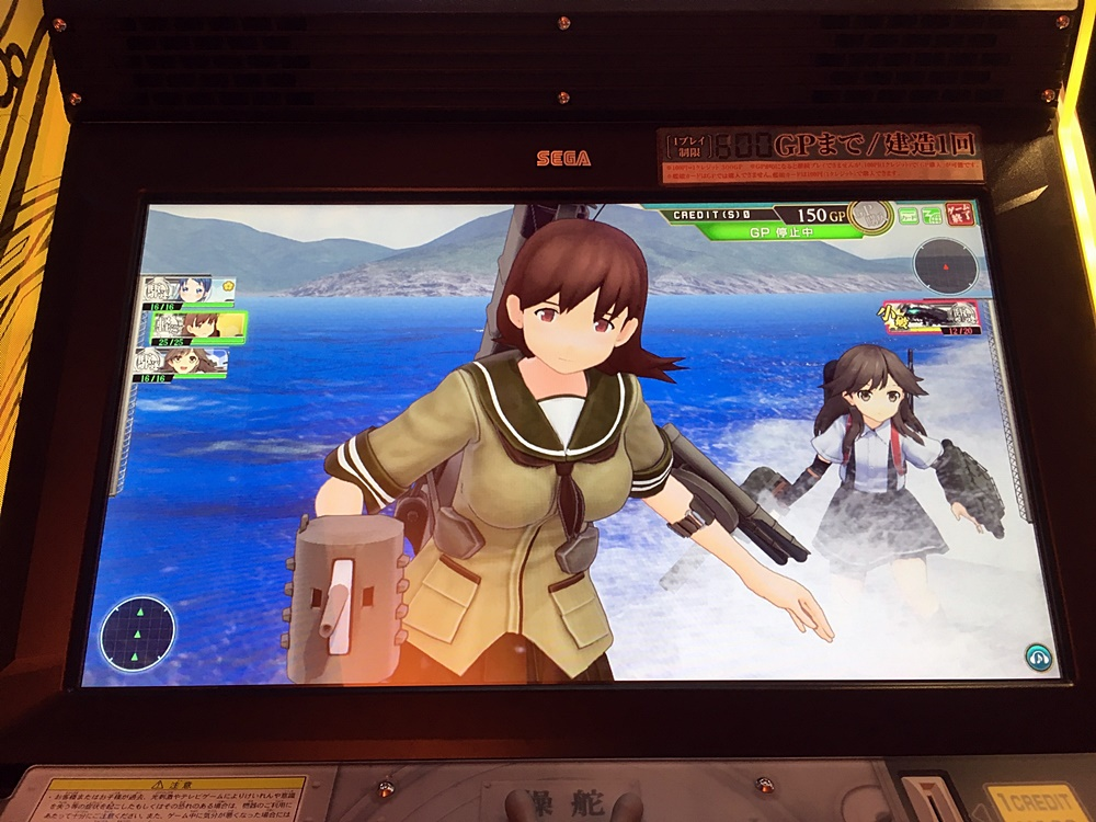 3Dモデルによる魅力的な戦闘シーン。プレイ中はとにかく忙しい