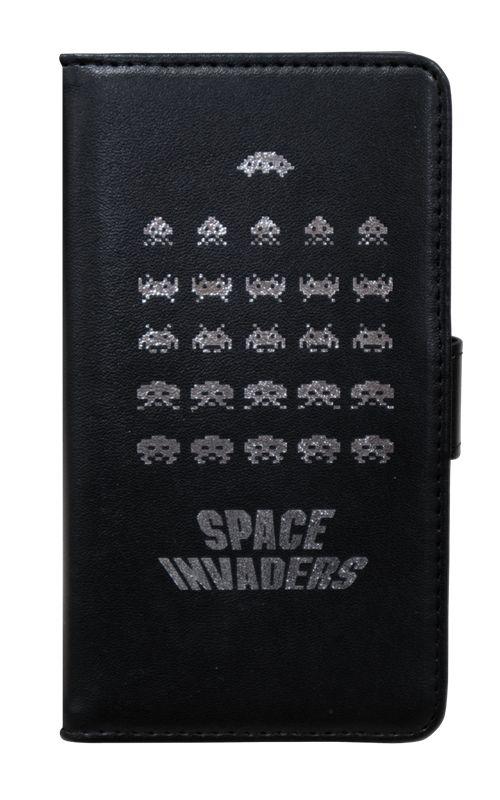 「スペースインベーダー」と昔懐かしい「TAITO」のロゴがデザインされている