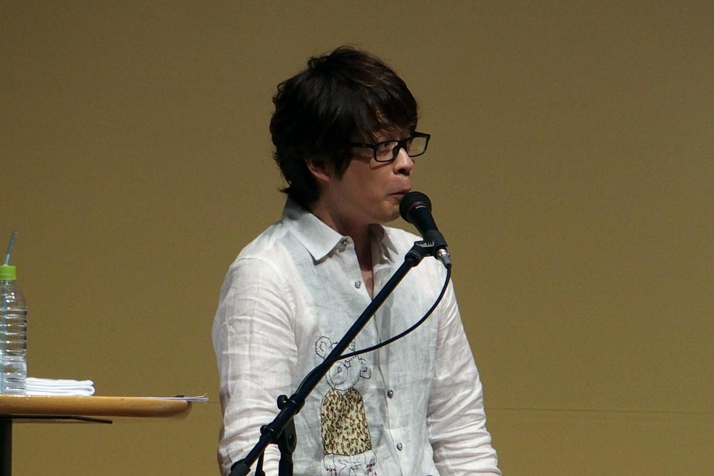 「社長!」と声をかけて次回作への質問をぶつける三浦さんに、出演者と観客の双方からどよめきが発せられた