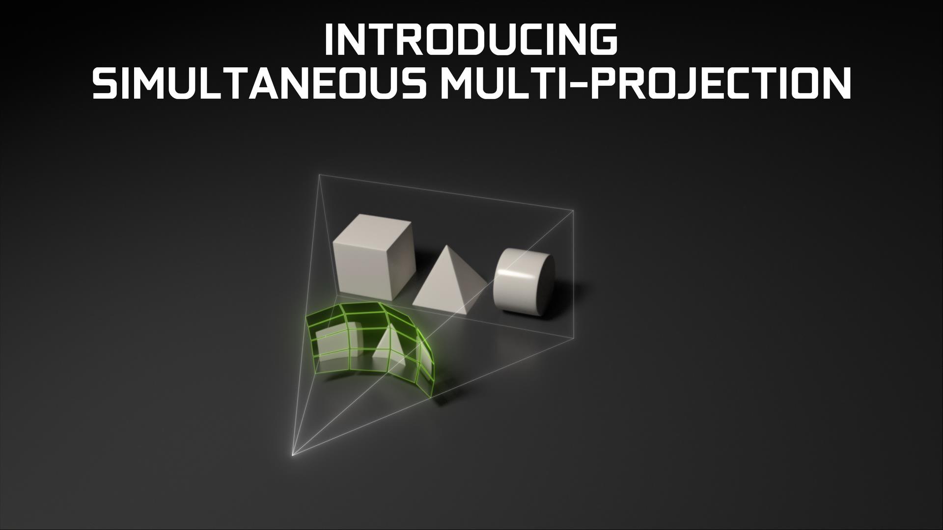 SMP機能による擬似半球面投影