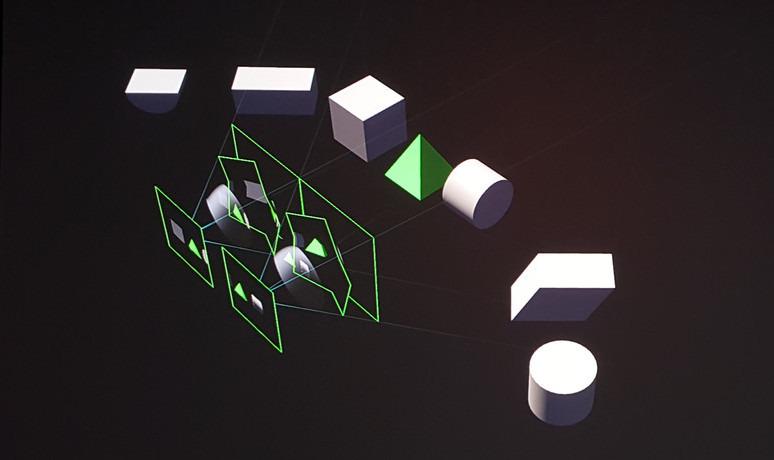 NVIDIAによる例では、各目に対応するビューポートを4分割して半球面に近似