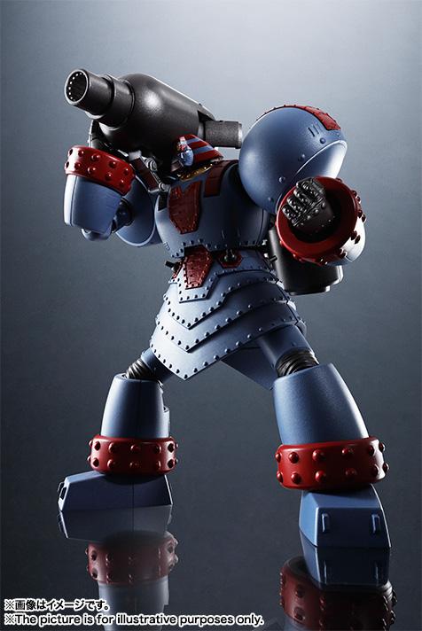 OVAの主役ロボットというマイナーなモチーフだが、ファンにとって特別に思い入れのあるキャラクターである。そのロボが高いクオリティで商品化されるのは、たまらなくうれしい