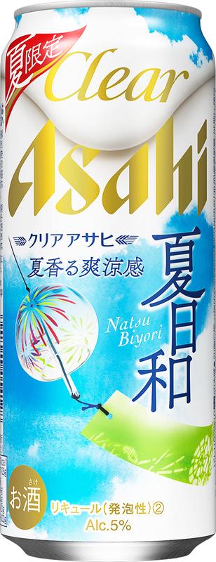 アサヒビール「クリアアサヒ 夏日和」500mL缶