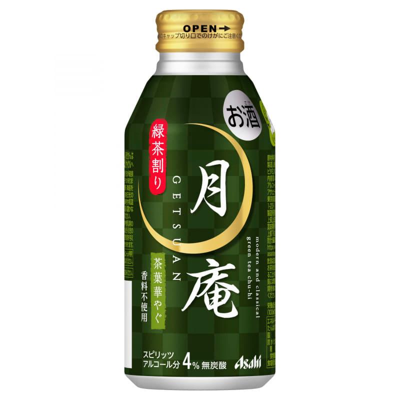 アサヒビール「アサヒ月庵 緑茶割り」