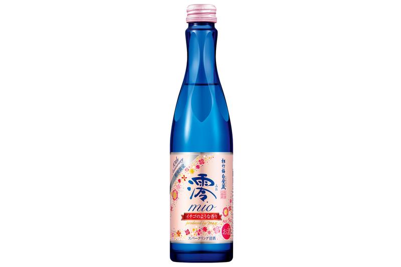 松竹梅白壁蔵「澪」スパークリング清酒10thAnniversary<イチゴのような香り>