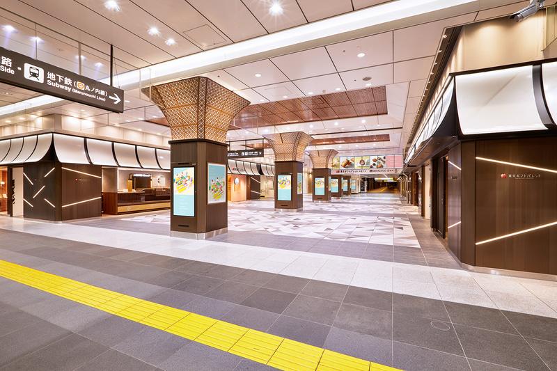 JR東京駅八重洲北口改札を出てすぐのエリアにある「東京ギフトパレット」