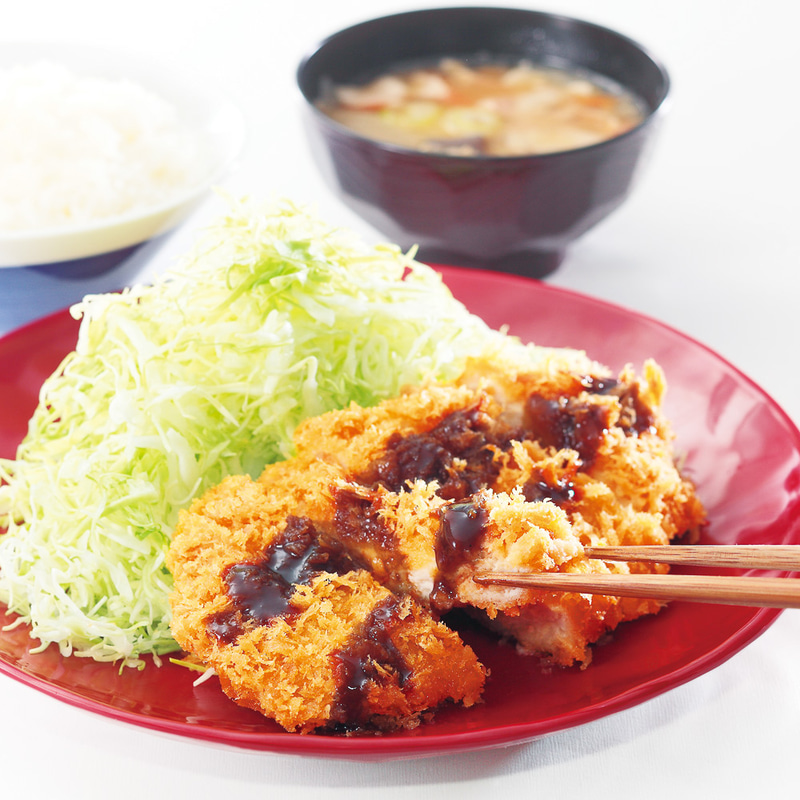 「ロースカツ定食」759円→594円