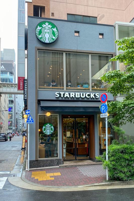 現在の銀座松屋通り店。ロゴも含めて結構変わってるんですね