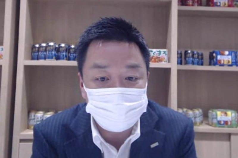 ハウス食品 食品事業本部 食品事業一部 ビジネスユニットマネジャーの友原厚氏