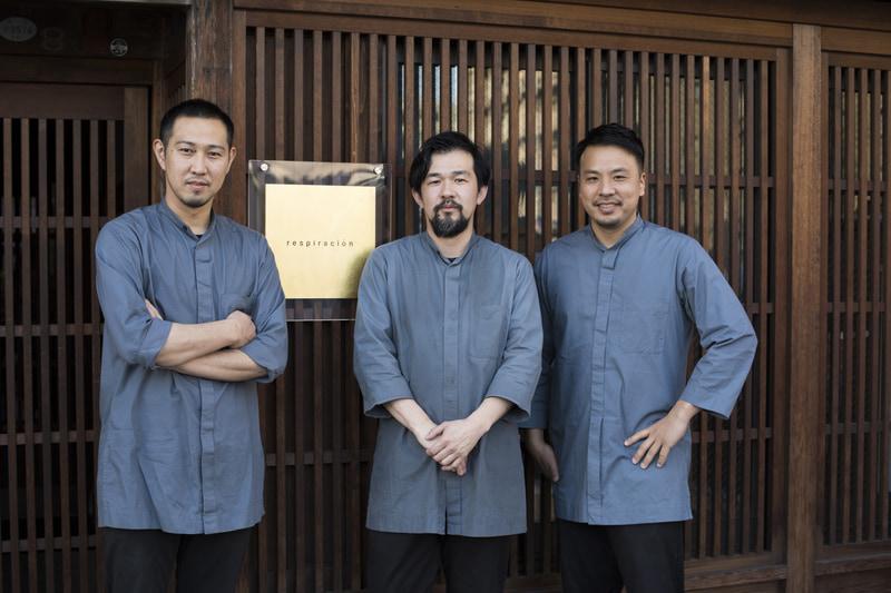 梅達郎氏、八木惠介氏、北川悠介氏