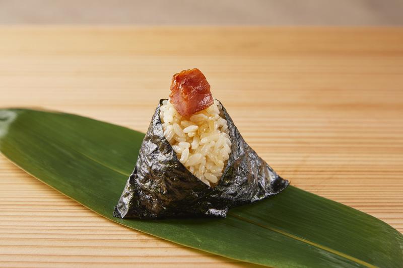 むすび寿司「天然南まぐろのとろたく」