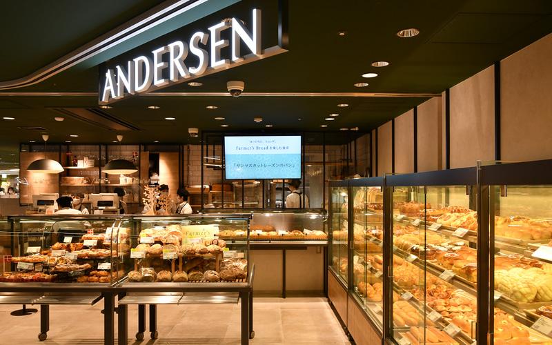 渋谷 東急フードショーにリニューアルオープンした「アンデルセン」