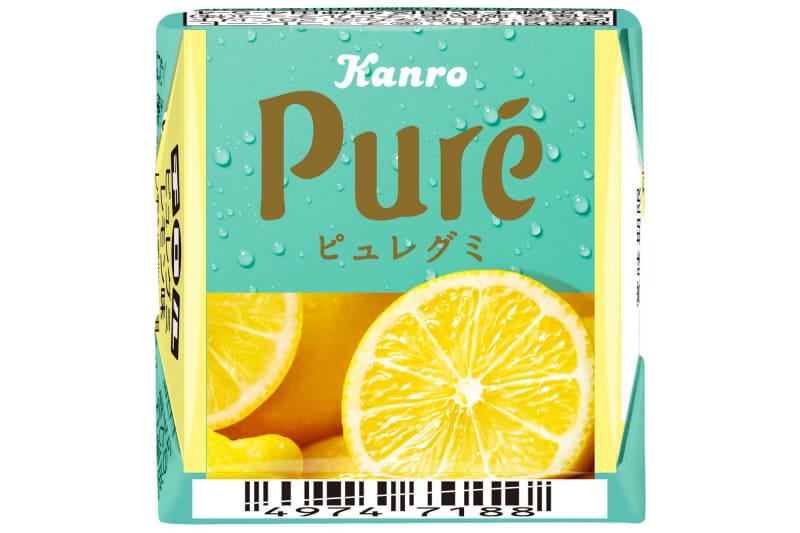 チロルチョコは「チロルチョコ〈ピュレグミレモン〉」を発売した