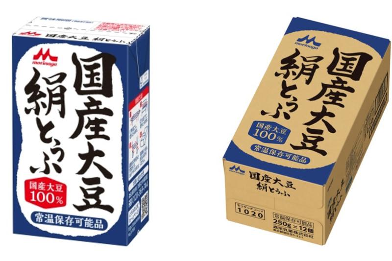 森永 国産大豆絹とうふ