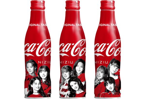 NiziUデザインの「コカ・コーラ」スリムボトル