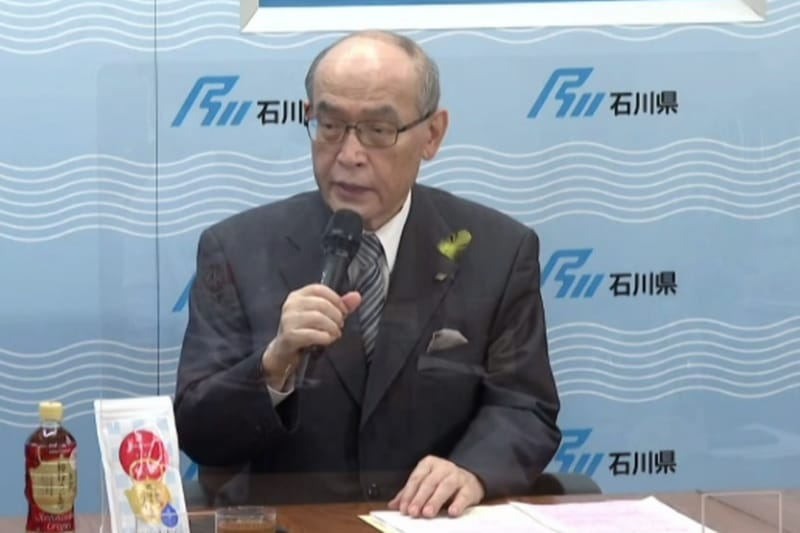 石川県知事の谷本正憲氏