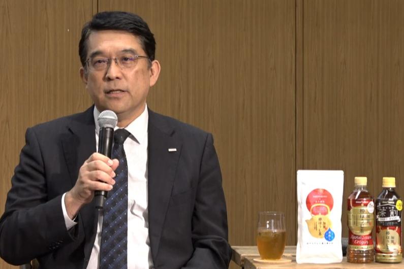 ポッカサッポロフード&ビバレッジ 食品飲料事業本部長 取締役執行役員の三枝裕昭氏