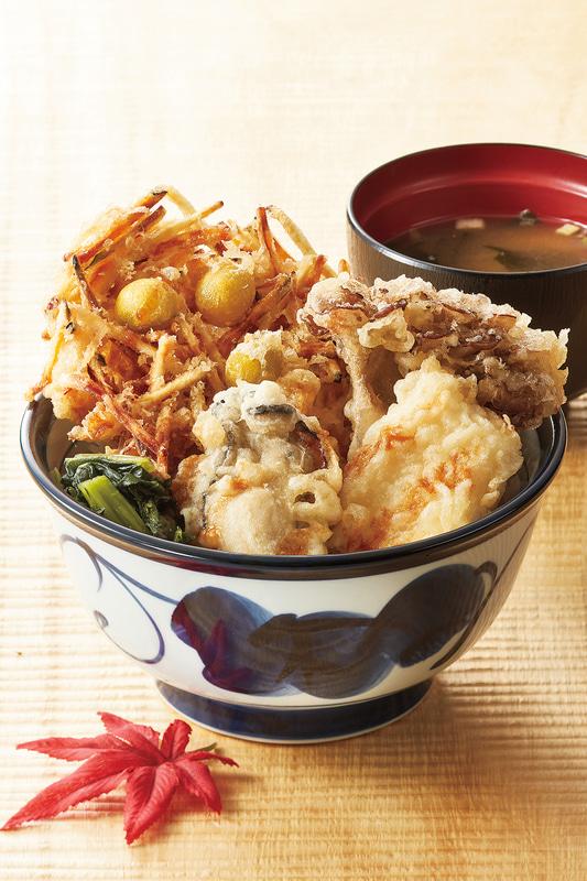 「国産秋天丼」890円