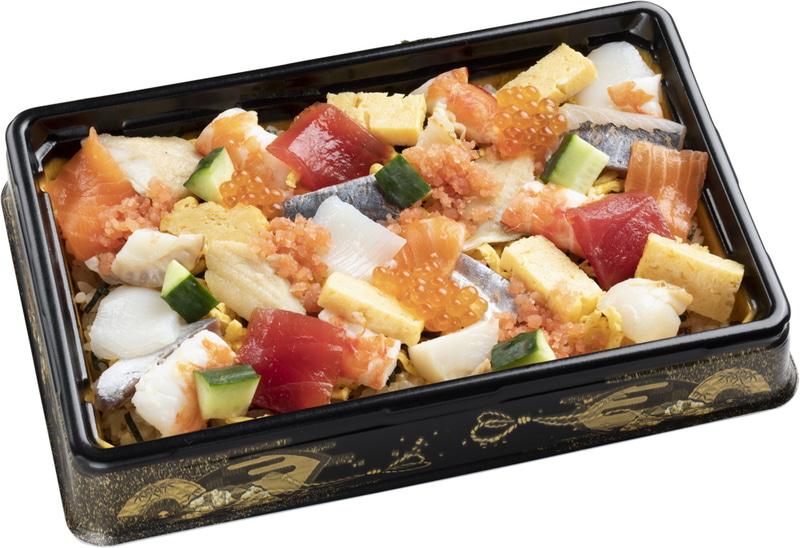 「海鮮ばらちらし」770円