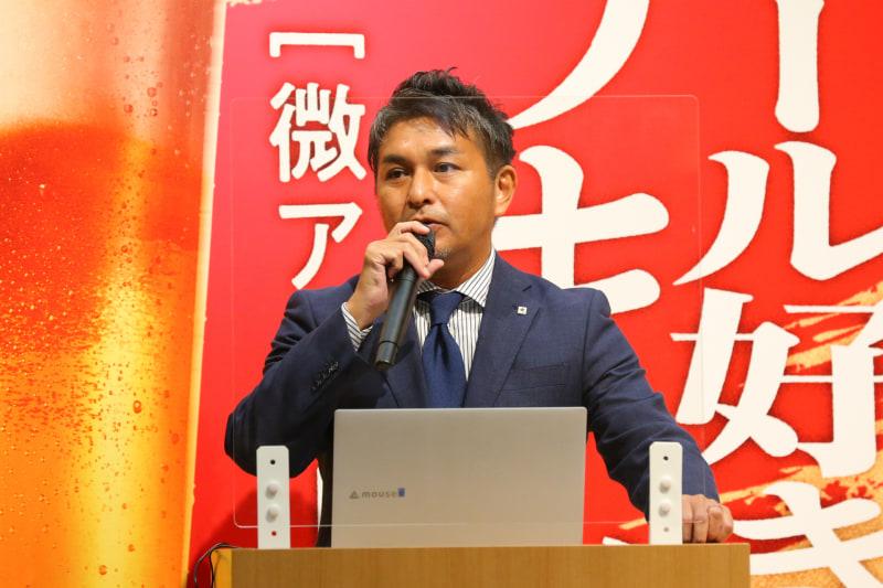 サッポロビール ビール&RTD事業部長の武内亮人氏