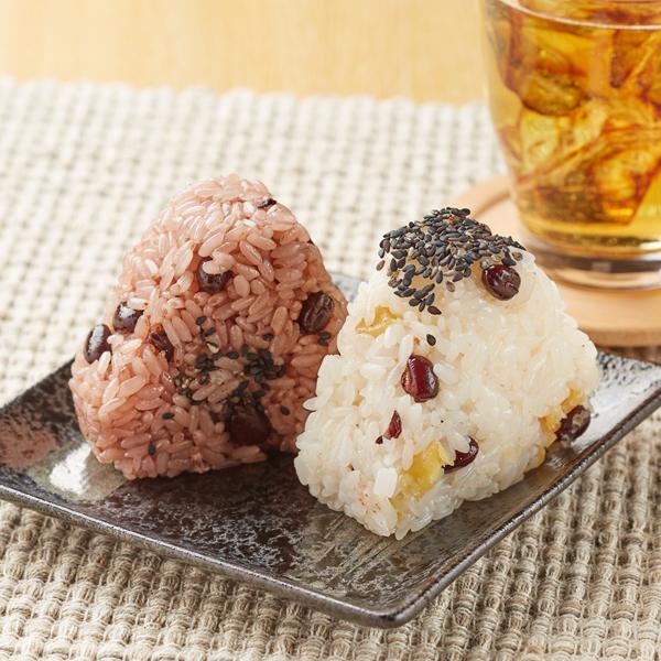 「さつま芋・小豆と赤飯のおこわ」(220円)
