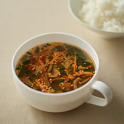 食べるスープ ユッケジャンスープ