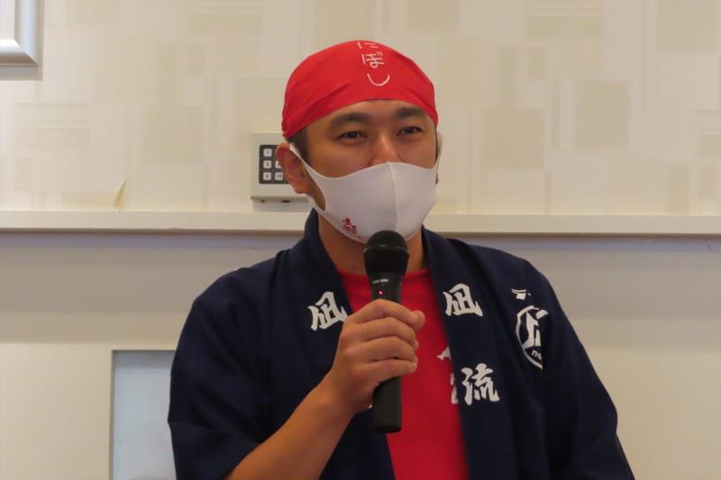 ラーメン凪店主の生田智志氏