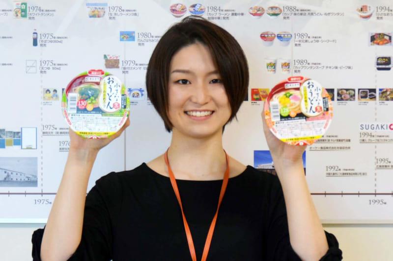 寿がきや食品 商品開発部の伊藤光希氏